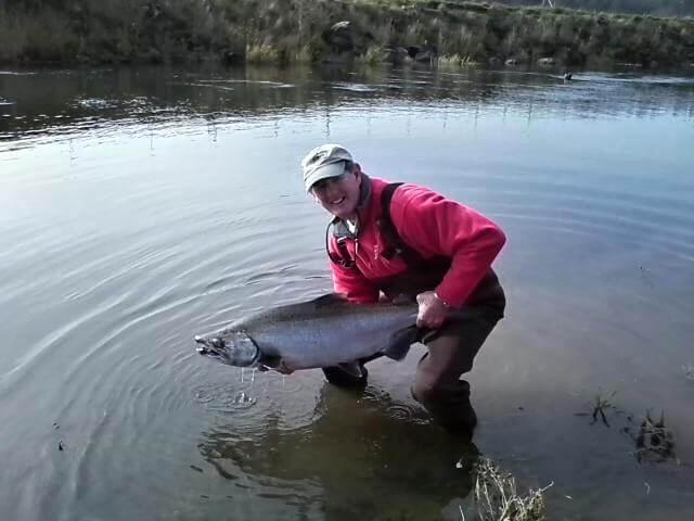 Fall Chinook Fishing Oregon