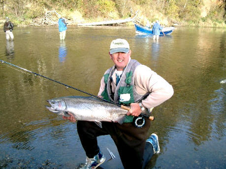 Spring Salmon Fishing