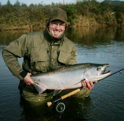 Chinnook Salmon Fishing